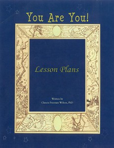 You are you-lesson plan page